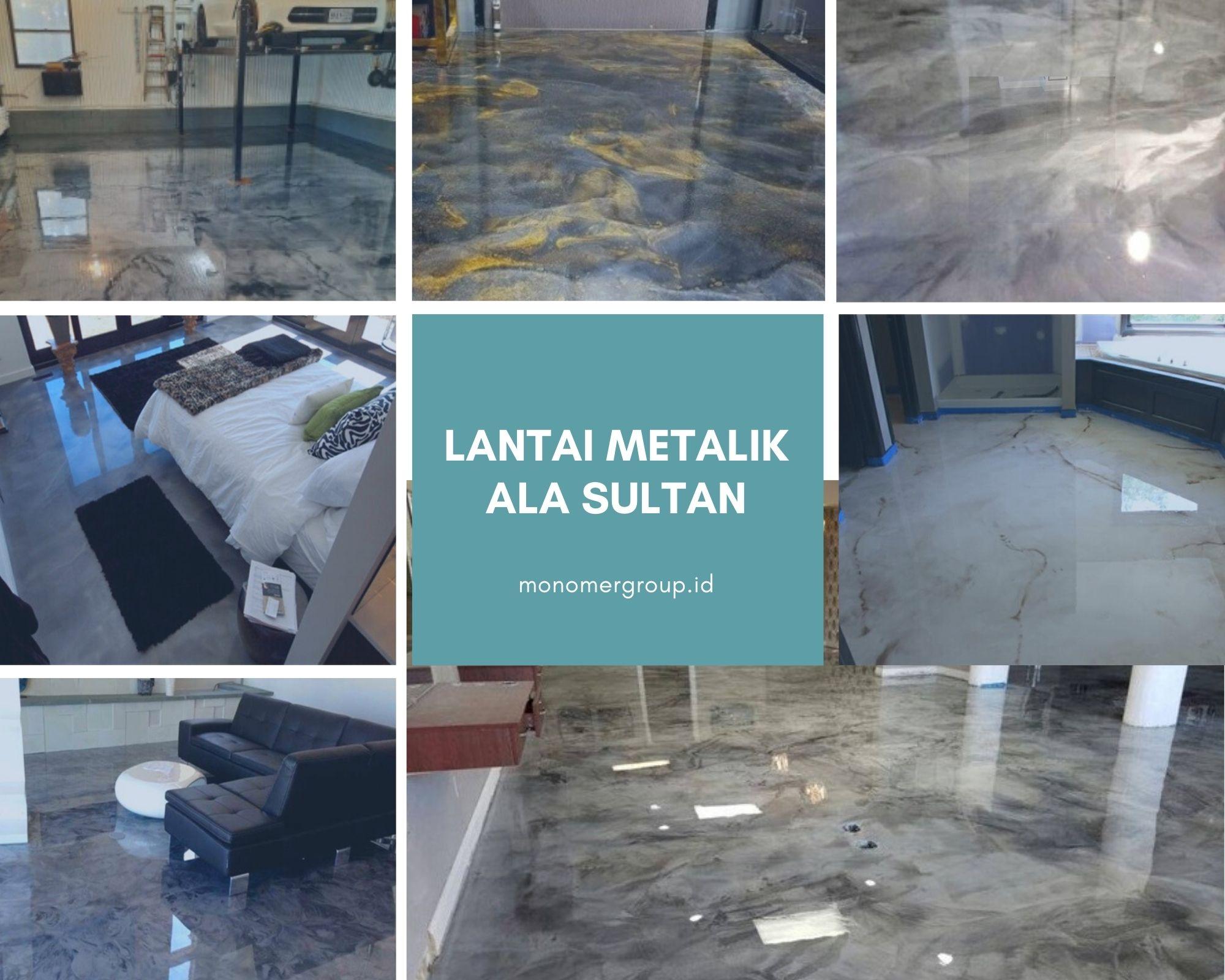 lantai metalik