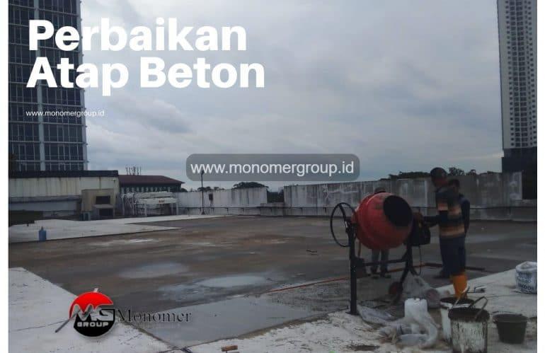 Jasa Perbaikan Atap Beton dan Waterproofing untuk musim hujan
